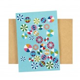 Card &#8211; Round Teal